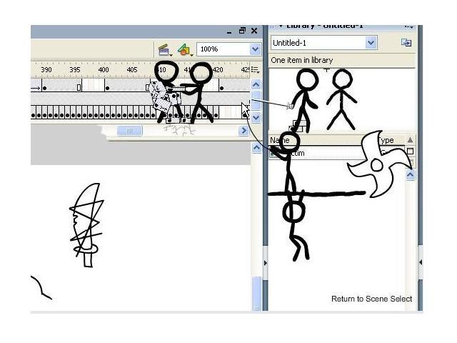 Online hra Animator vs. Animation