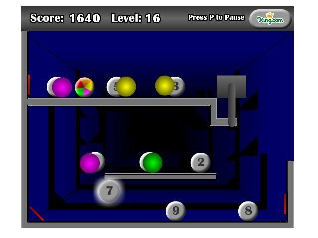 Online hra Ball Reflexion
