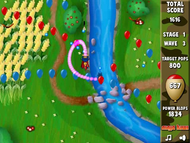 Online hra Bloons Super Monkey