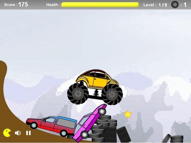 Online flash hra Buggy madness zdarma