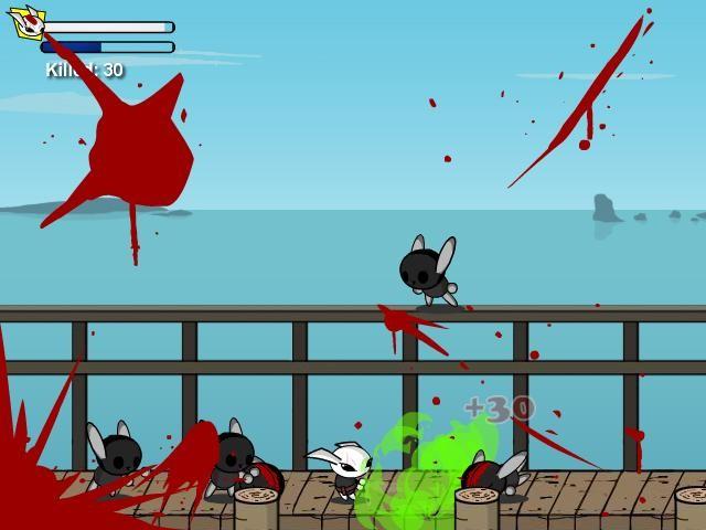Online hra Bunnykill 5