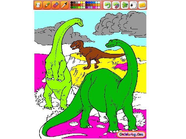 Online hra Dinosauři