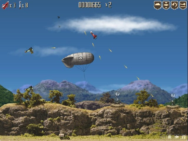 Online hra Dogfight 2