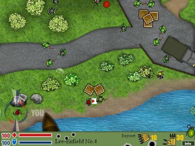 Online hra Endless War 4