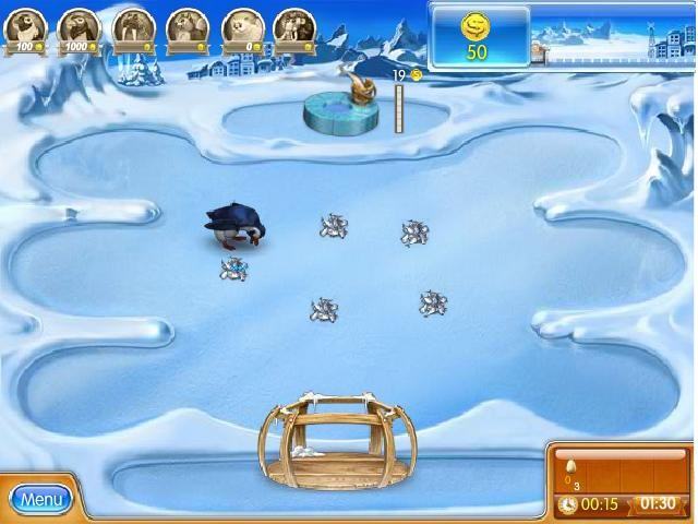 Flash Farm Frenzy 3 Ice age online hra zdarma Strategie