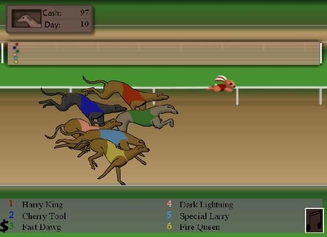 Online hra Greyhound Racing Tycoon