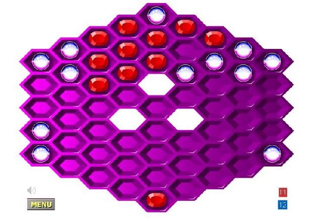 Online hra Hexagon