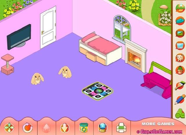 Online hra Můj nový pokoj
