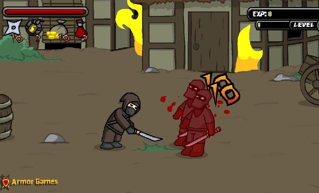 Online hra Ninja