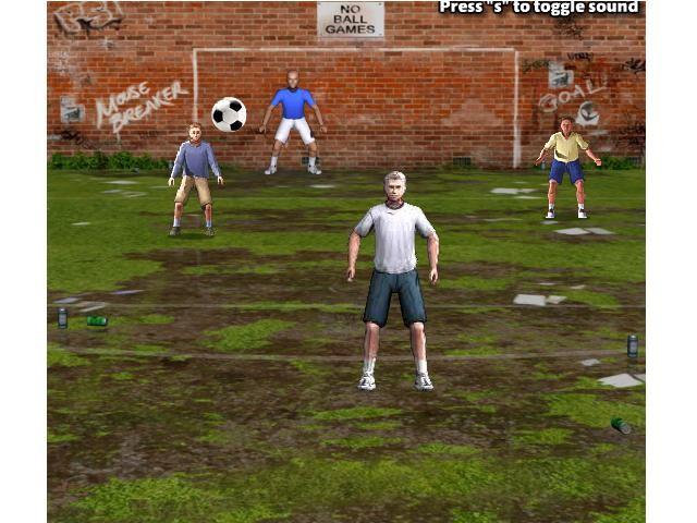 Online hra Overhead Kick