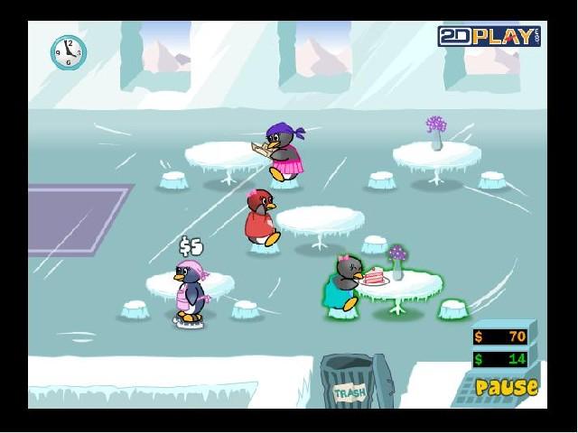 Online hra Penguin Diner 2