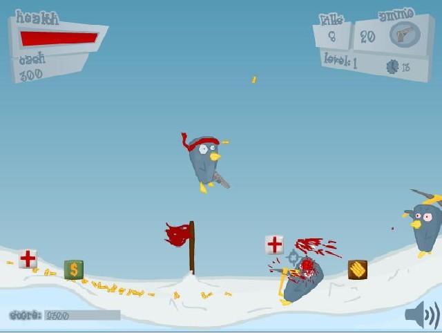 Online hra Penguinz