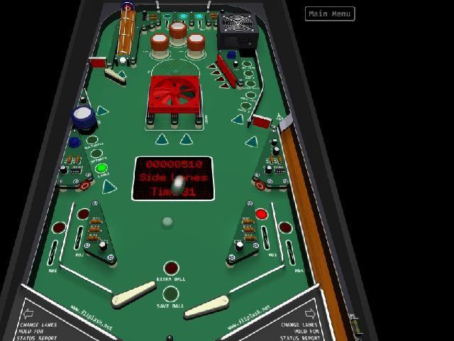 Online hra Pinball