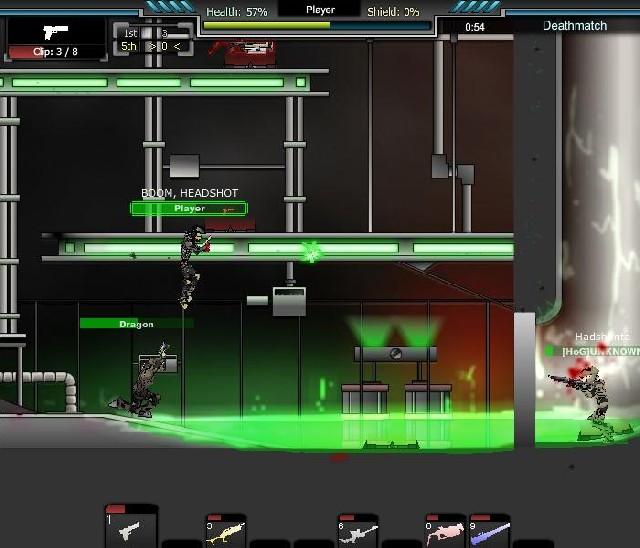 Online hra Raze