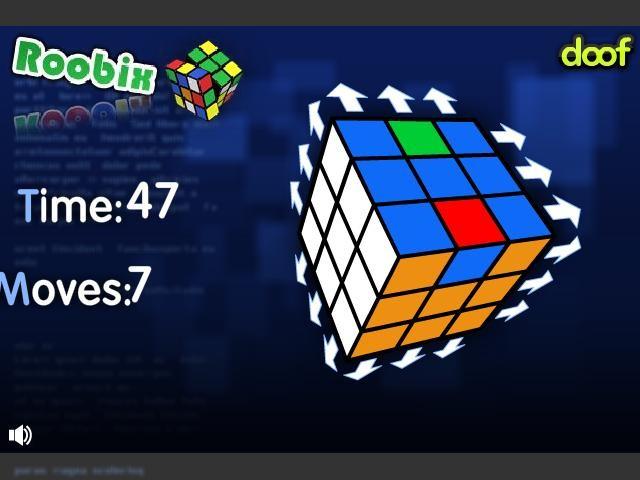 Online hra Rubikova kostka