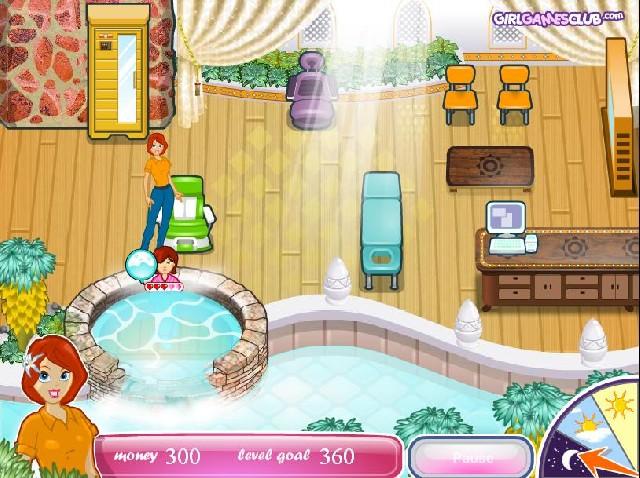 Online hra Sashas Health Spa