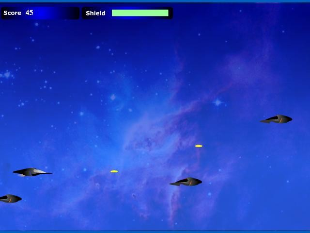 Online flash hra Space invaders zdarma