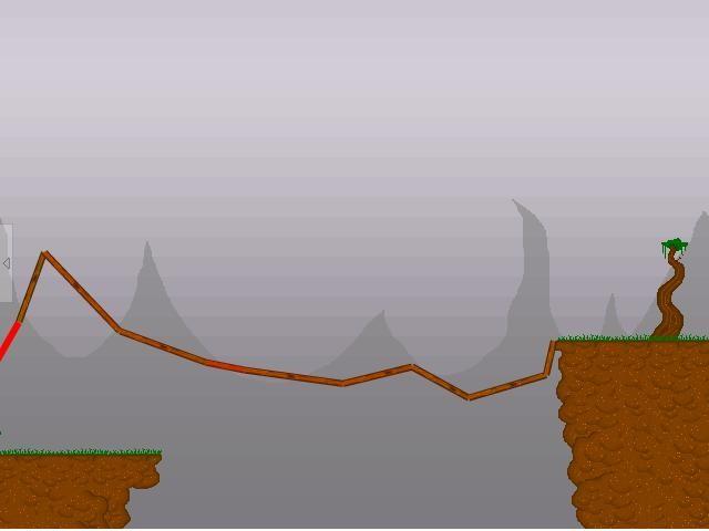 Online hra Stavění mostů