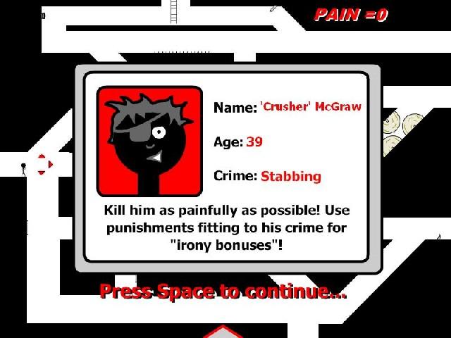 Online flash hra Tortur-o-matic 2 zdarma