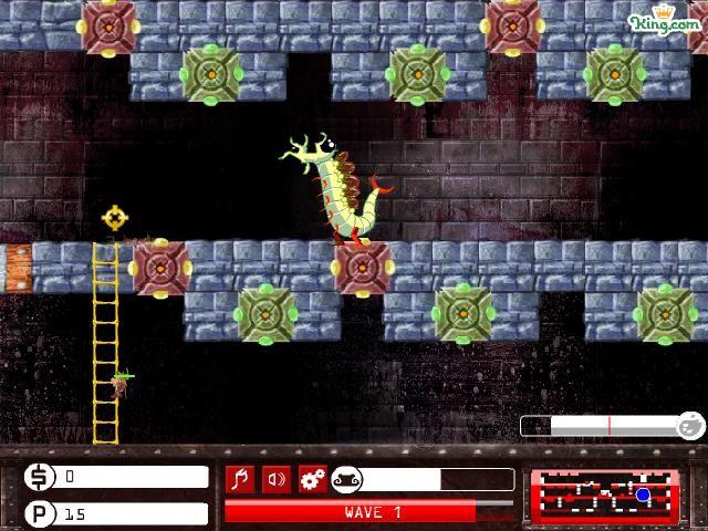 Online hra Trap master