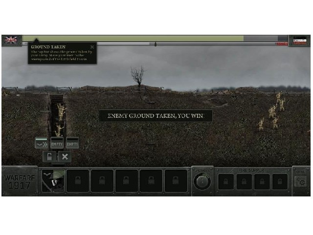 Flash Warfare 1917 online hra zdarma Strategie