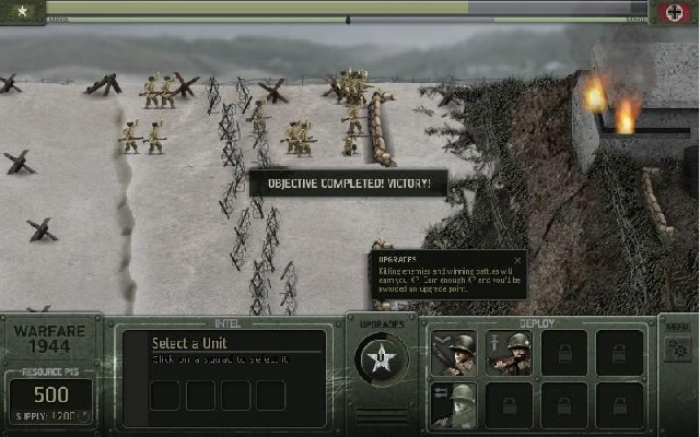 Flash Warfare 1944 online hra zdarma Strategie